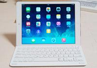 iPad Airをノートパソコンのように使えるキーボードカバー