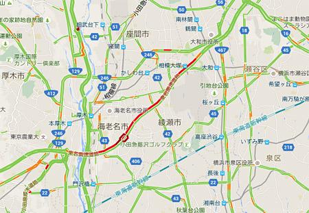 Googleマップの交通情報