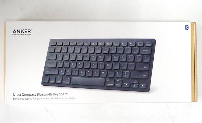 Anker ウルトラスリム Bluetoothワイヤレスキーボード レビュー