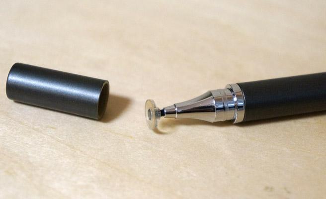 ダイソーのディスクタイプタッチペン