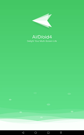 スマホ側でアプリ(AirDroid)を起動