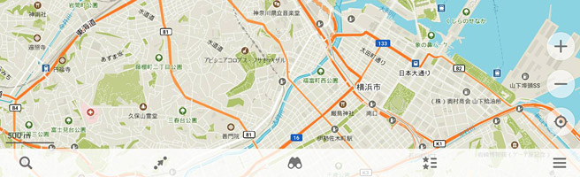 日本のオフラインマップを使うなら無料のアプリ「MAPS.ME」