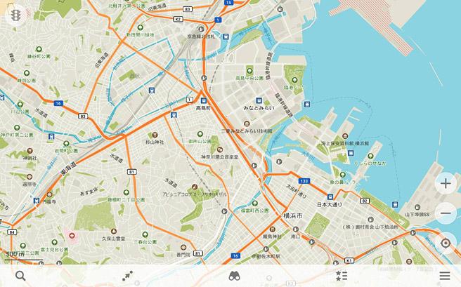 「MAPS.ME」は、Googleマップのような地図アプリ