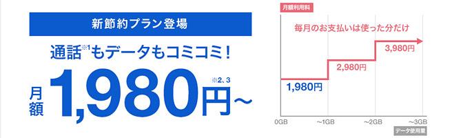 ソフトバンクのコミコミで月額1,980円「おてがるプラン」は本当にお得?