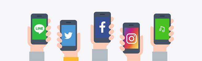 LINEモバイルなら唯一「年齢認証」ができる。TwitterやFacebook、Instagramもカウントフリー