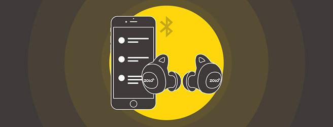 専用のアプリ「Zolo Life」で音質の変更ができる